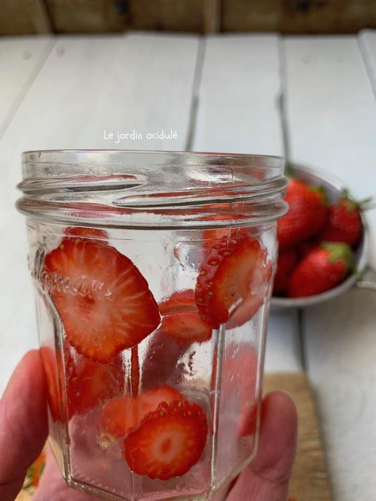 Dessert de Pâques : verrines fraises