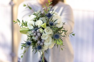 Le Jardin d Audrey-wedding_blue bridal bouquet 2