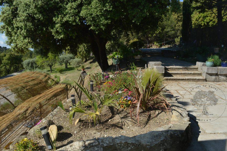 le jas de Belley vue d'extérieur du gîte de Belley à Montfort 04600 alpes de haute Provence 04