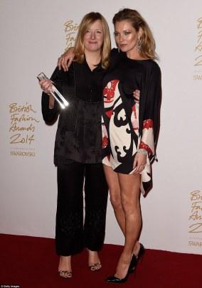 Sarah Burton i Kate Moss