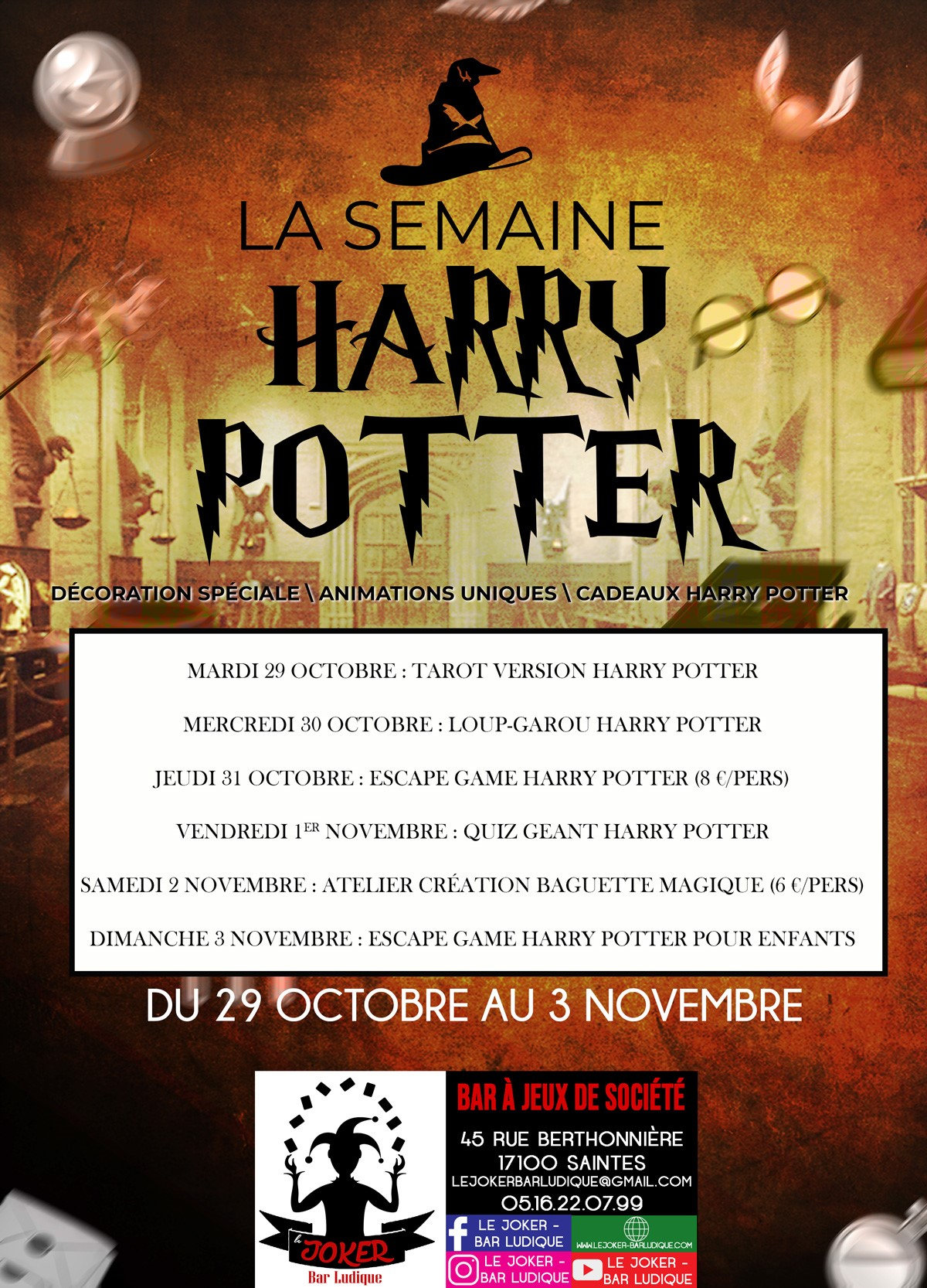 La semaine Harry Potter