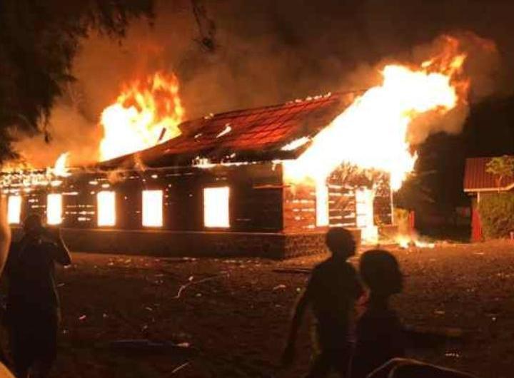 Incendie à Kyeshero