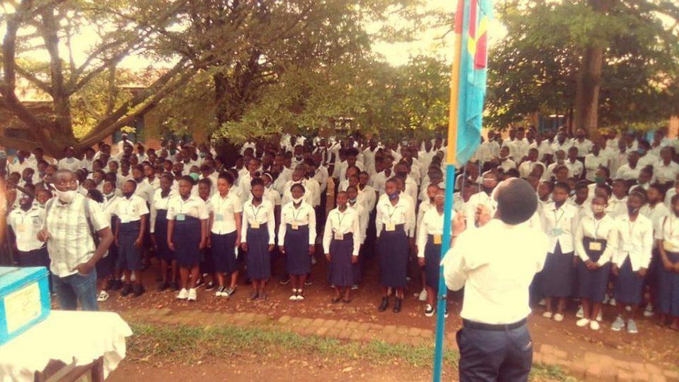 Les élèves de Beni pour l'Exetat 2021