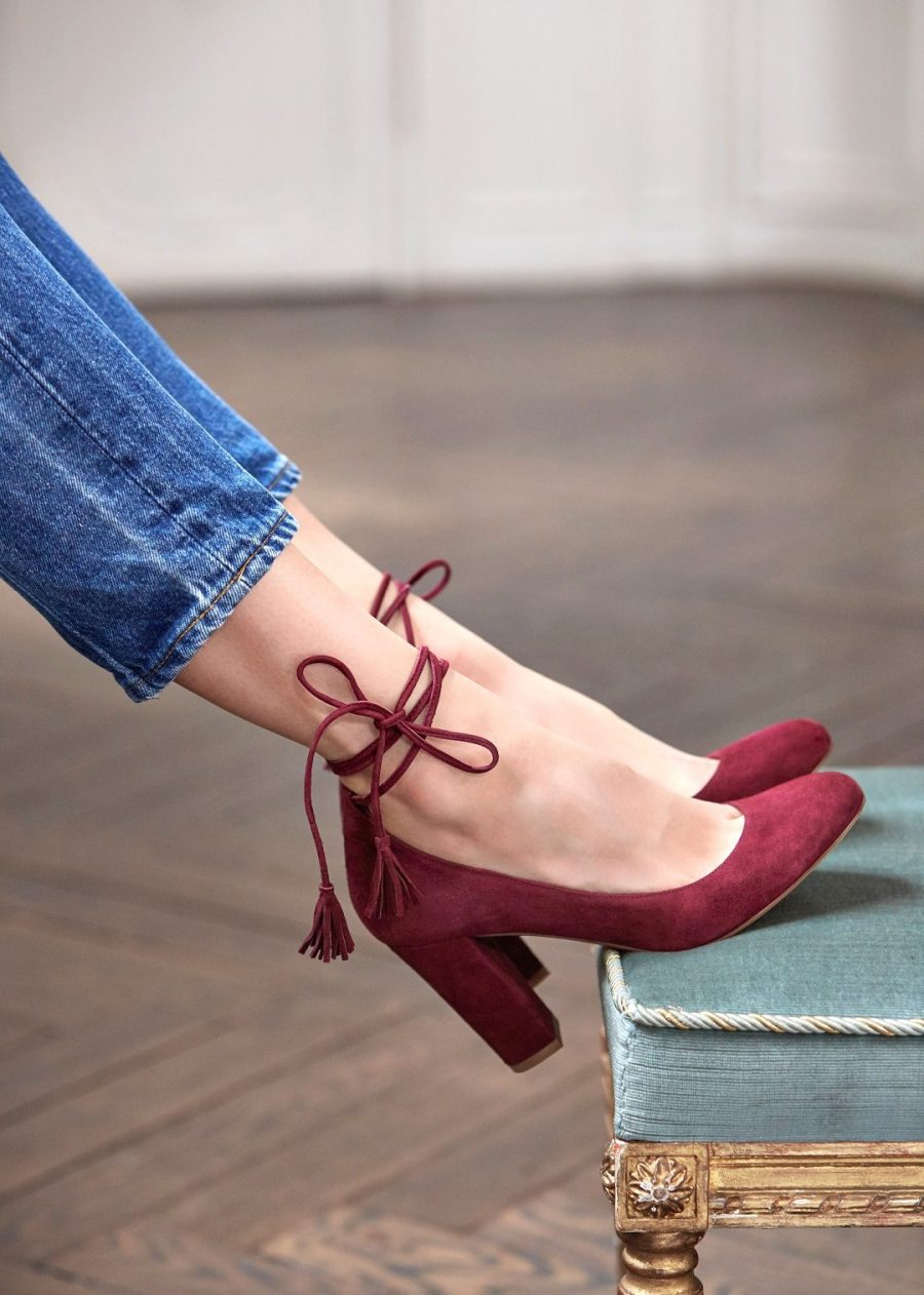 Sezane, shoes, wedding shoes