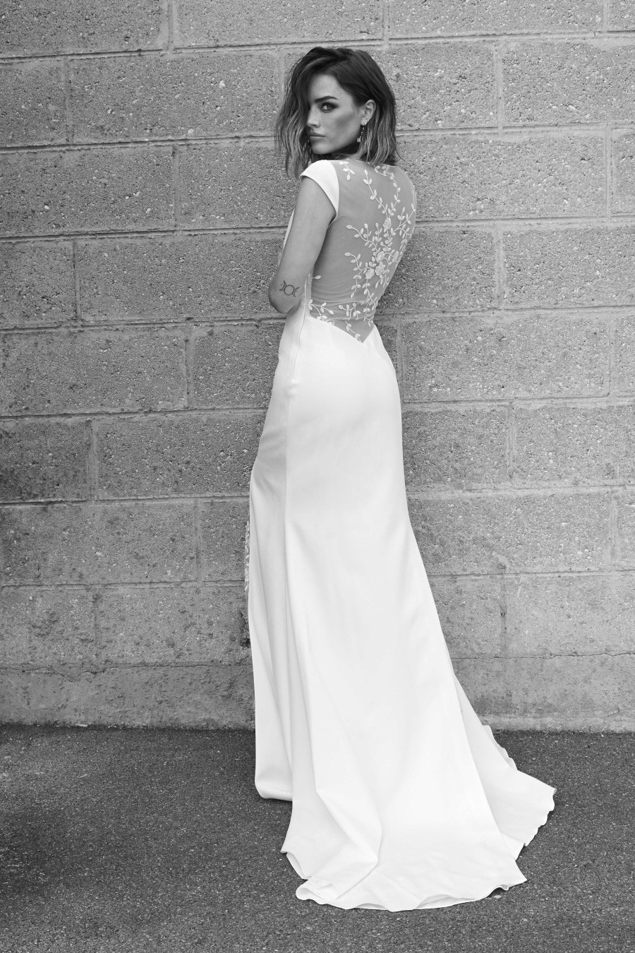 Rime Arodaky, Cool bride, fashion bridal, curvy bride