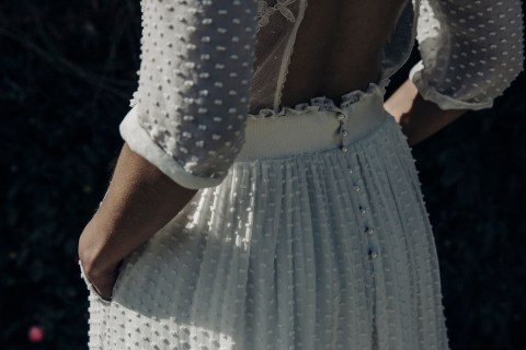 Laure de Sagazan, French Bridal Couture, Wedding dress, Wedding planning, bridal sample sale, french bridal, boho wedding dresses, modern wedding dresses