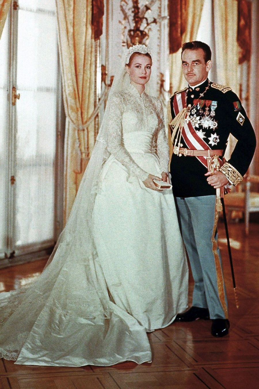 Long sleeve wedding dress, Grace Kelly, Wedding Inspiration
