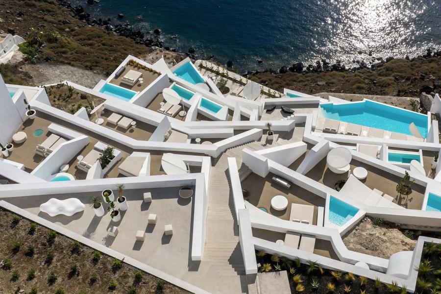 wedding destination, wedding venue, Saint Hotel in Santorini, weddings in Santorini