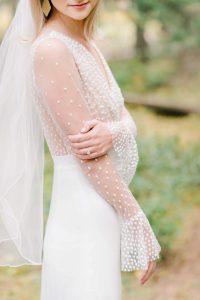 Real wedding, Rime Arodaky bride, Joni gown, wedding in Canada, New York bride