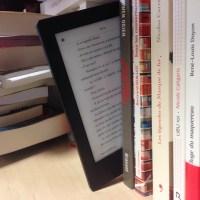 livres et liseuse