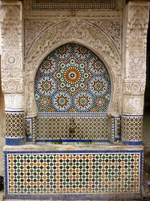 fontaine formes géométriques