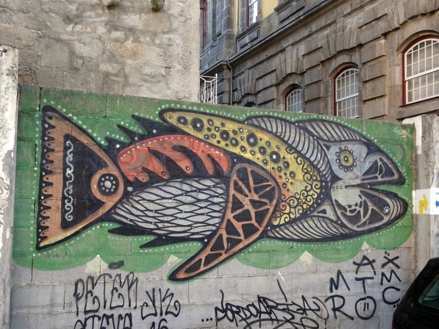 Street art Hazul à Porto