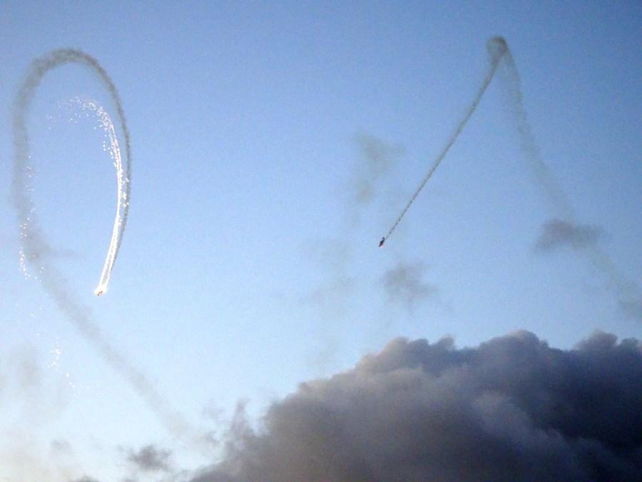 show aérien à Harwich