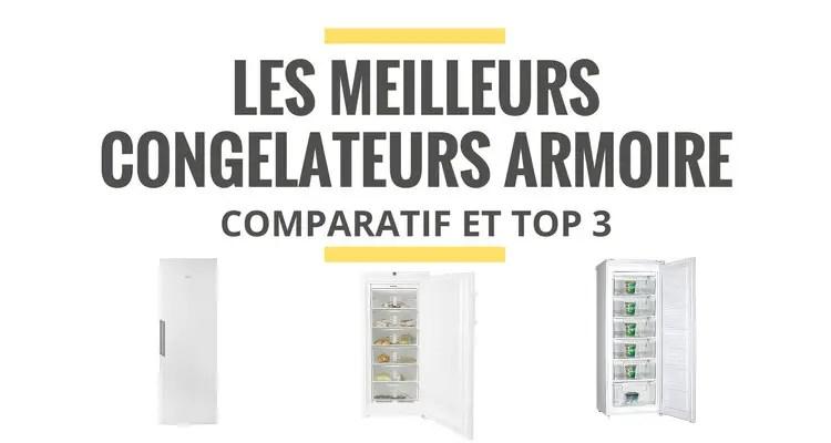 meilleur congelateur armoire comparatif