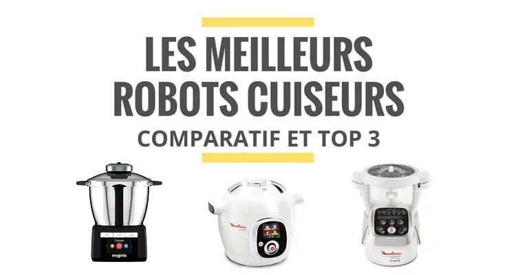 les meilleurs robots cuiseurs