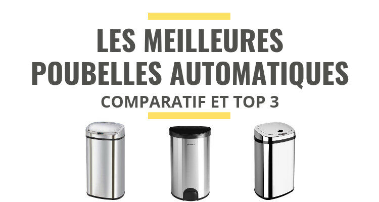 Les Meilleures Poubelles Automatiques Comparatif 2021 Le Juste Choix
