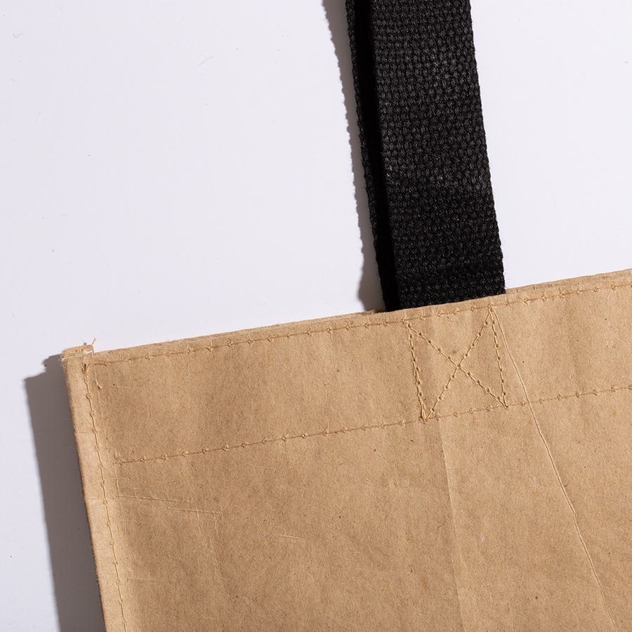 Beige Kraft Woven Bag, simple hemp bag,