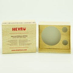 Special 1300g wooden paper laminated surface with greyboard interior in a 2 piece (base and lid) style