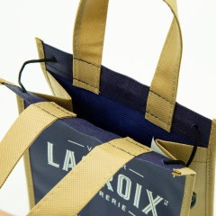 non-woven bags in a variety of sizes and different closure options