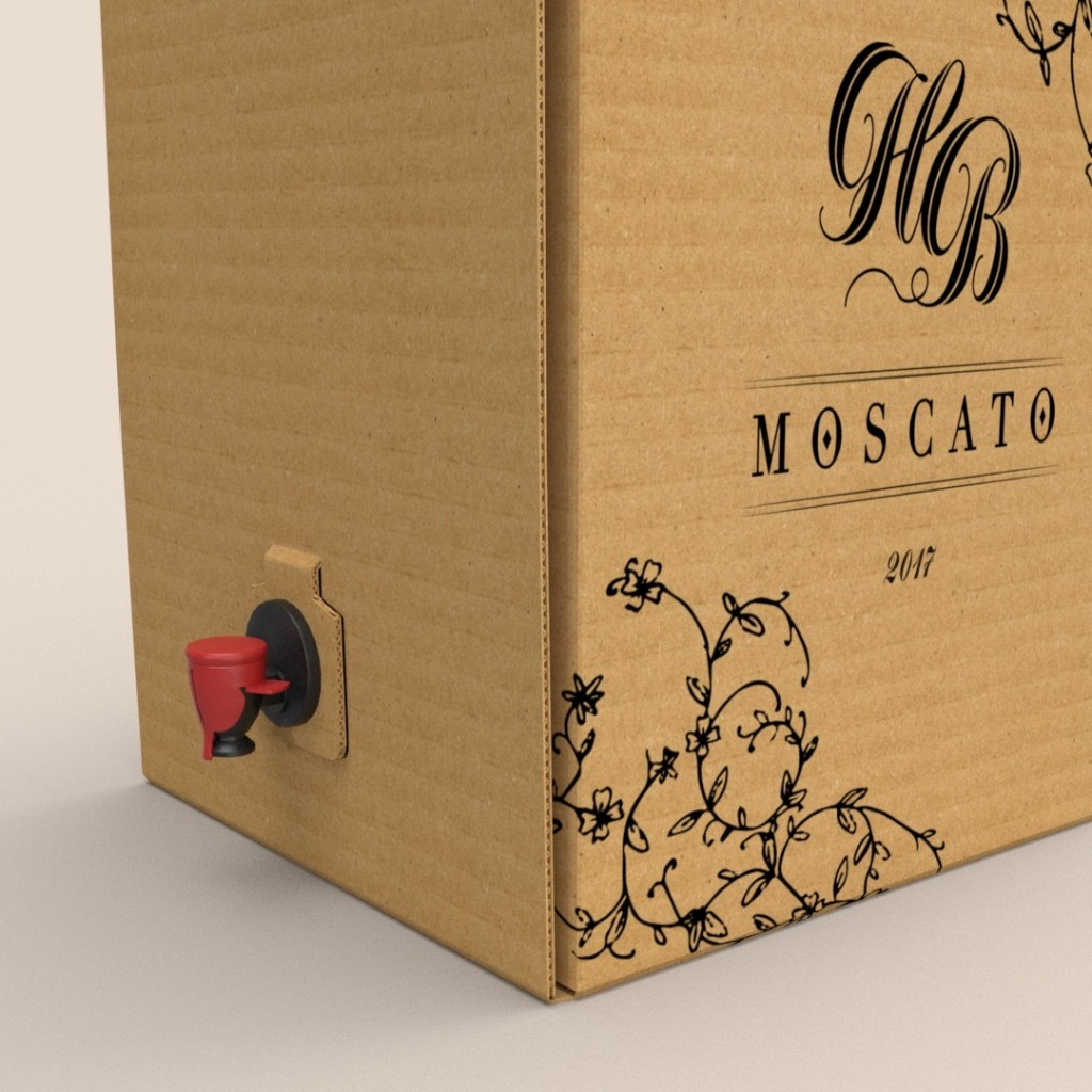 boxed wine packaging