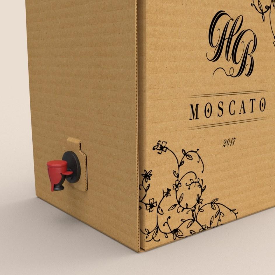 custom wine packaging