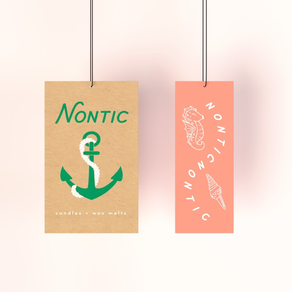choose hangtags in different sizes or with different finishes