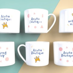 add fun designs to your mugs to ensure your customers use them everyday