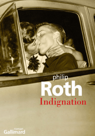 Couv Indignation de Philip Roth