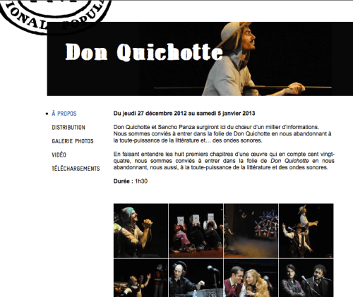 Don Quichotte-TNP