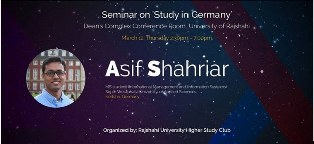Seminer on Study in Germany
