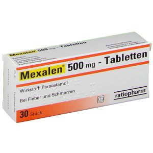 Mexalen® 500 mg-Tabletten, 30 St