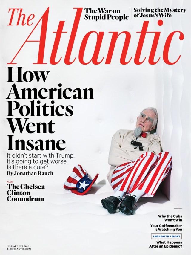 The Atlantic - Numéro Juillet/Aout 2016