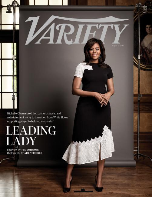 Couverture de Variety du 23 Août 2016 avec Michelle Obama