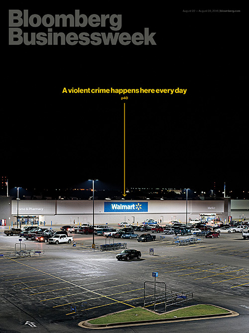 "BloombergBusinessWeek - Edition du 22 au 28 Août 2016: ""A violent Crime happens here every day"""
