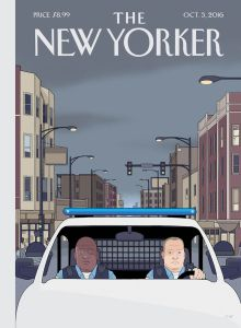 "The New Yorker - Edition du 3 octobre 2016: ""Shift"" by Chris Ware"