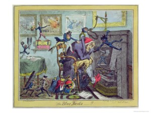 The Blue Devils de George Cruikshank