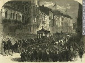 Cortège funèbre de Thomas D'Arcy McGee à Montréal