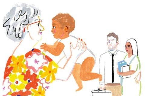 Dans le New York Times : Les petits-enfants : la grande récompense de la vieillesse.