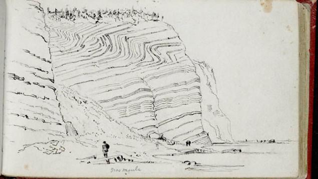 Il y a 175 ans, en Gaspésie, William Logan entreprenait l'exploration géologique du Canada