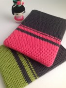 Color block Ipad sleeve