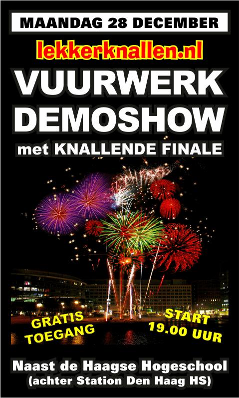 Vuurwerkshow Lekkerknallen 2015