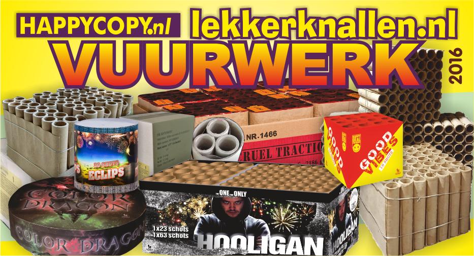 Assortiment 2016 Lekkerknallen Vuurwerk Happycopy