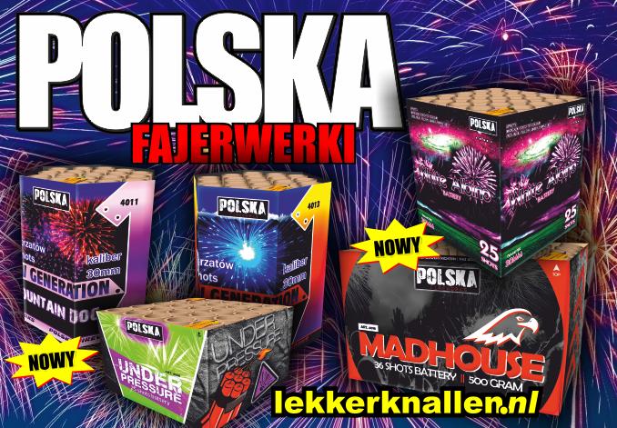 Polska Collection Vuurwerk Uit Polen Vuurwerk Denhaag 2019 678