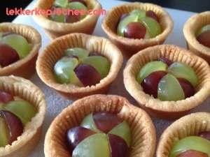 Mini druiventaartjes
