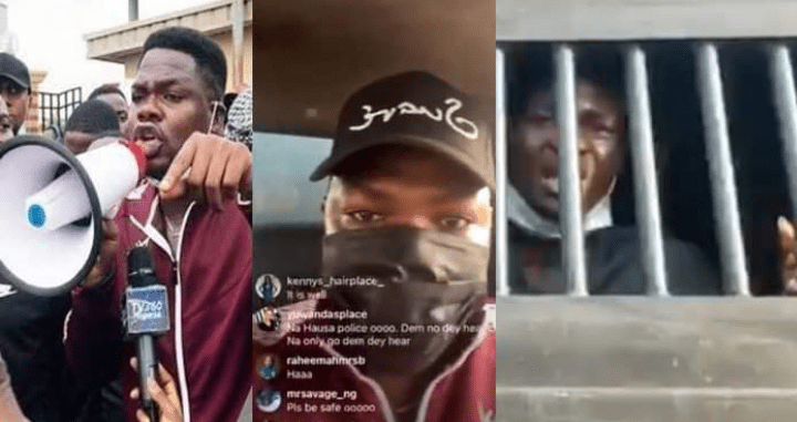 Mr Macoroni & 10 Others Occupy Lekki Toll Gate Protesters Arrested (Video)