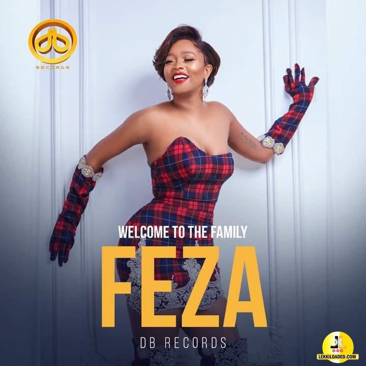 Dbanj Signed Female Artist Feza kessy To DB Record