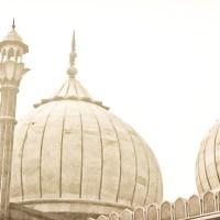 La mosquée Jama Masjid  à New Delhi
