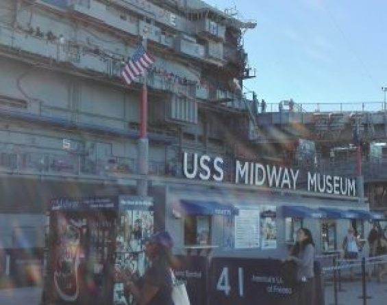 USS MIDWAY MUSEUM Entrance