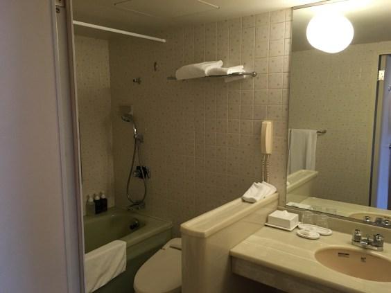 クラウンプラザ京都バスルーム