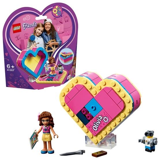 LEGO firends -Olivias-hjärtask